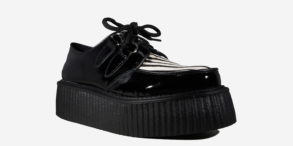 Summitfashions Mens Platform Boots Black Creeper Shoes Lace Up High Top Sneakers 2 in Platform. by Summitfashions. $ $ 96 FREE Shipping on eligible orders. patent leather. Tonal lace-up closure. DbDk Women's Slip On Zip Platform Creeper. by DbDk. $ - .