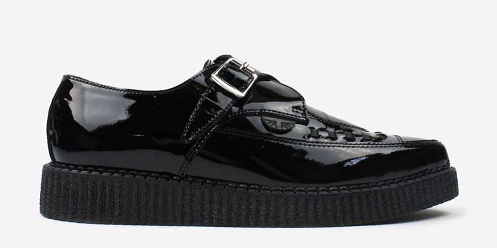 Buy Saint Laurent Women's Black Patent Leather Creepers. Similar products also available. SALE now on!Price: $