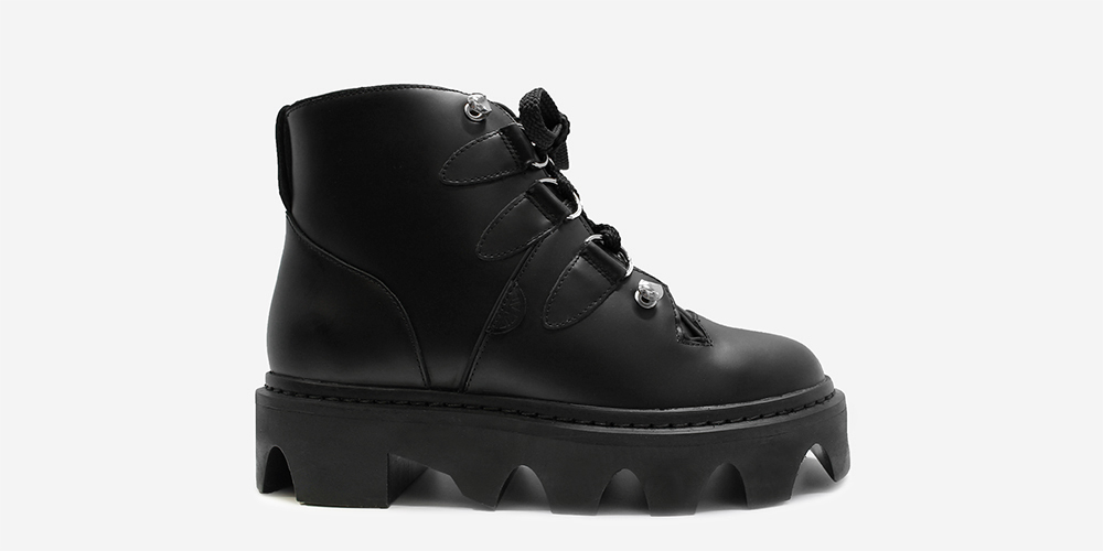 2ef94fe08be10 EVOLUTION JUNGLE BOOT - BLACK LEATHER - Underground