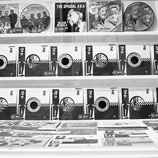 2tone part 1. From our visit to the @covmusic our awayday. Every record ever produced on the 2tone label is their. Black and White.  #undergroundshoe  #undergroundshoes  #undergroundlondon  #8berwickstreet  #underground_halfmoon  #awaydays  #coventry  #covmusic