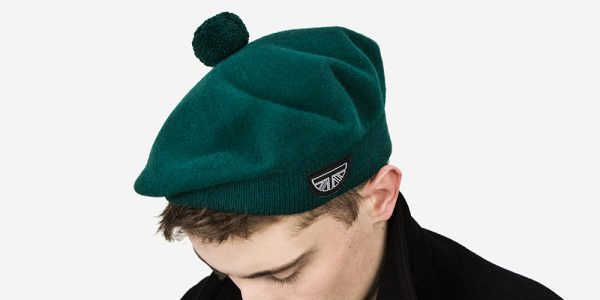 100% BRITISH WOOL GREEN BERET