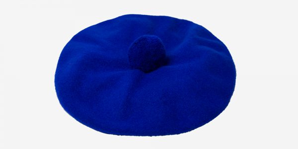 BRITISH WOOL BLUE BERET UNDERGROUND