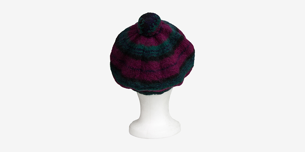 be5175d3146 HUG AND PINT BRITISH WOOL RED BERET HAT - UNDERGROUND