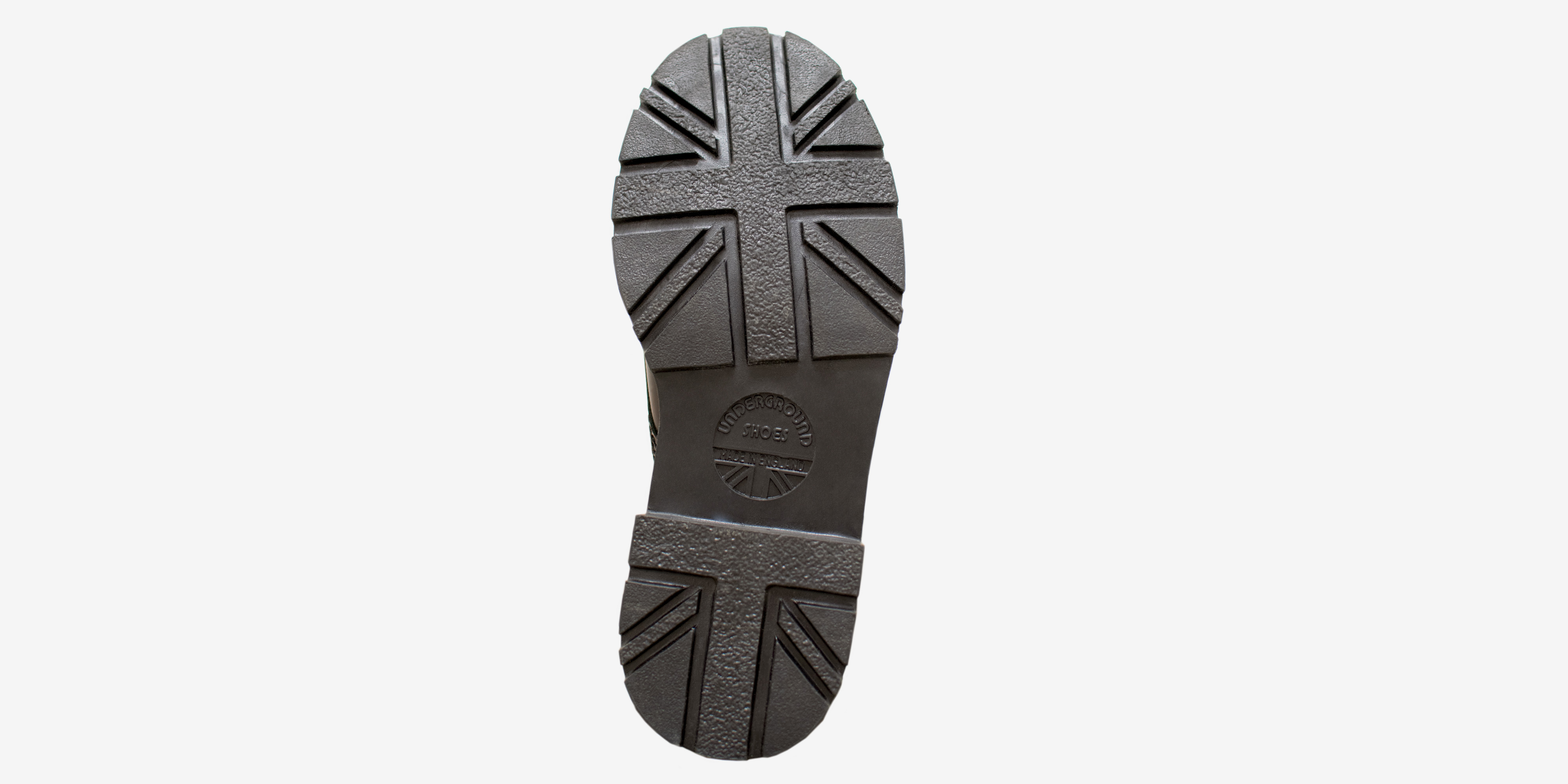 cd2564e7a5d WARRIOR 4 BUCKLE BOOT WITH UNION JACK SOLE - BLACK LEATHER & METAL PLATE -  SINGLE SOLE